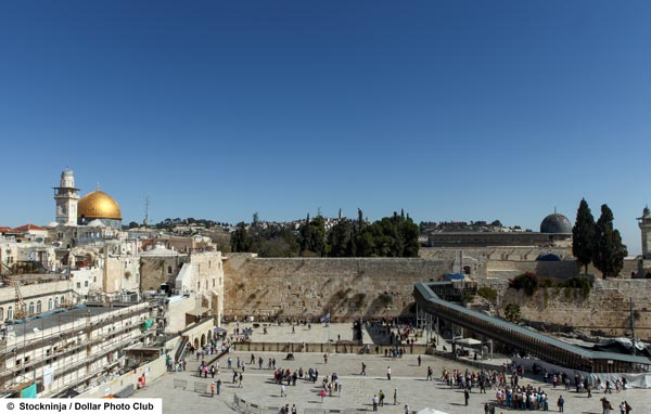 Jerusalem is the cradle of the three great monotheistic world religions