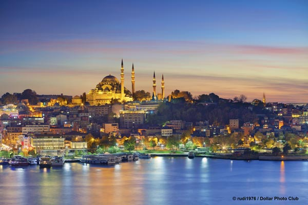 Istanbul is the only city located on 2 continents